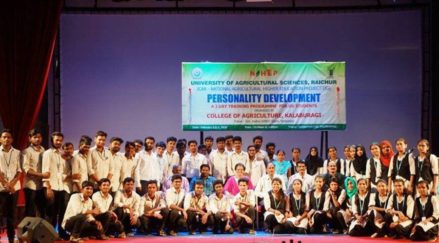 Two Days Personality Development Training Program Organised at College of Agriculture, Kalaburagi